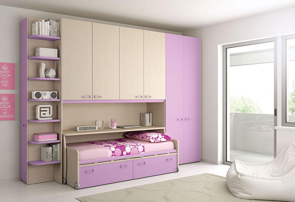 Cameretta studio risparmio pi - Mensole per camere da letto ...