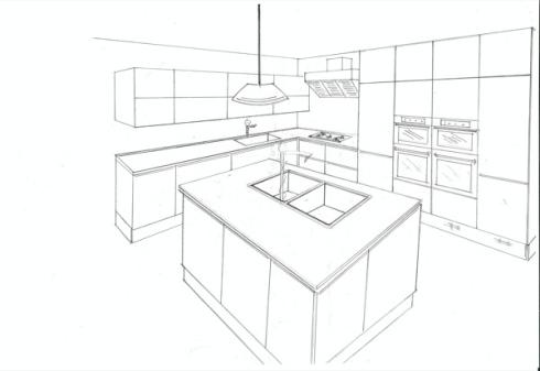 Disegni cucine trendy cucine moderne cucine in legno cucine in vero legno cucine in legno e - Programmi per disegnare cucine ...